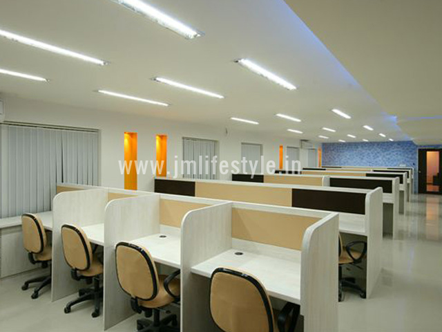 Office interiors created from skilled interior designers in Cochin